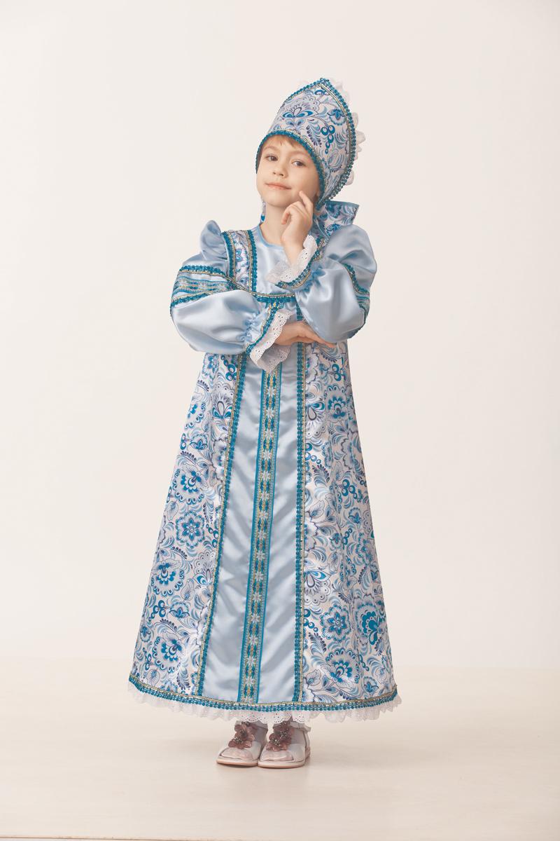 Батик Костюм карнавальный для девочки Василиса сказочная размер 28 батик костюм карнавальный для девочки козочка цвет белый размер 28