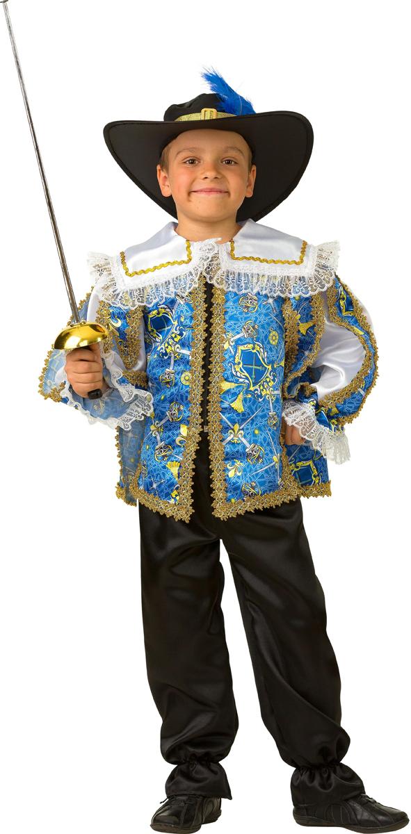 Батик Костюм карнавальный для мальчика Мушкетер сказочный размер 28