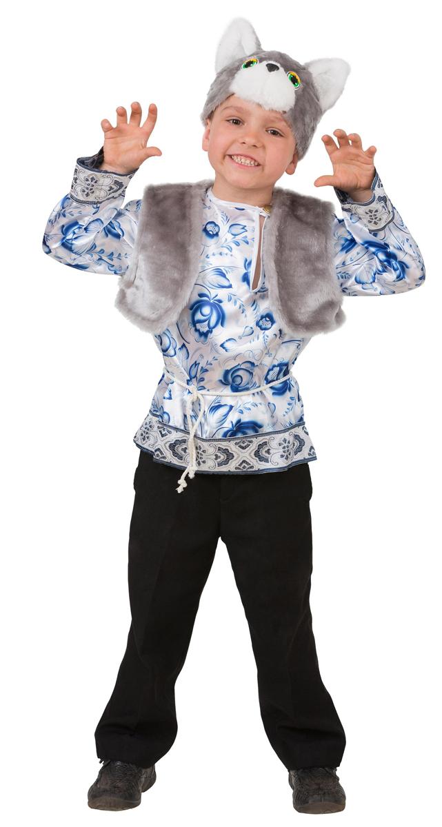 Батик Костюм карнаальный для мальчика Котик Макарка размер 26