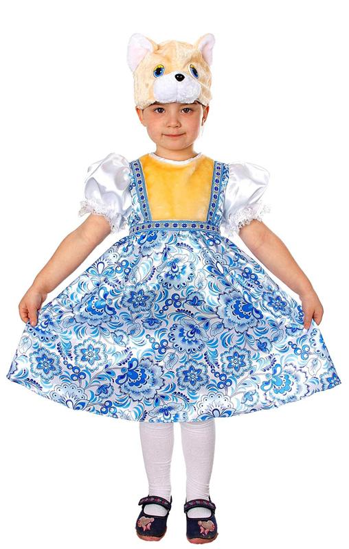 Батик Костюм карнавальный для девочки Кошка Миланья размер 32 что в виде сувенира из туапсе