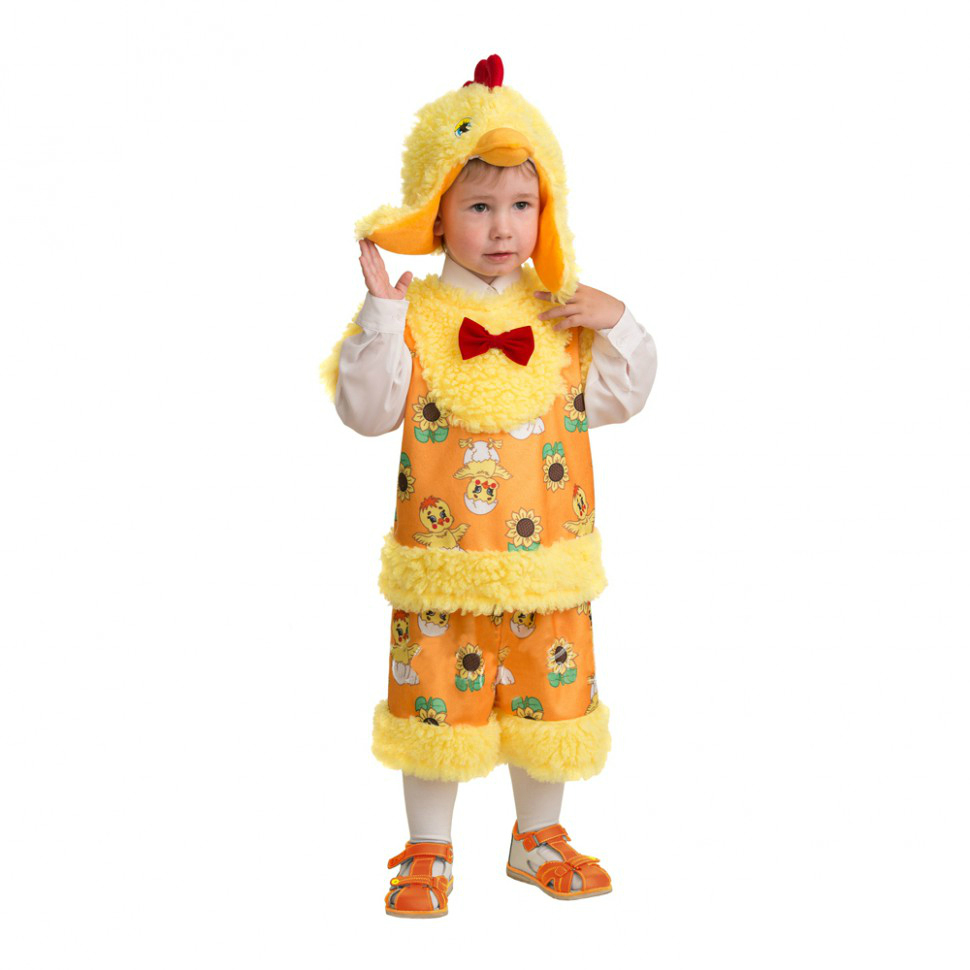 Батик Костюм карнавальный для мальчика Цыпленок Миня размер 28