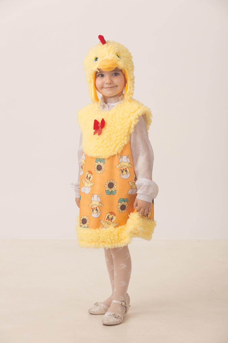 Батик Костюм карнавальный для девочки Цыпочка Моня размер 28 батик костюм карнавальный для девочки козочка цвет белый размер 28