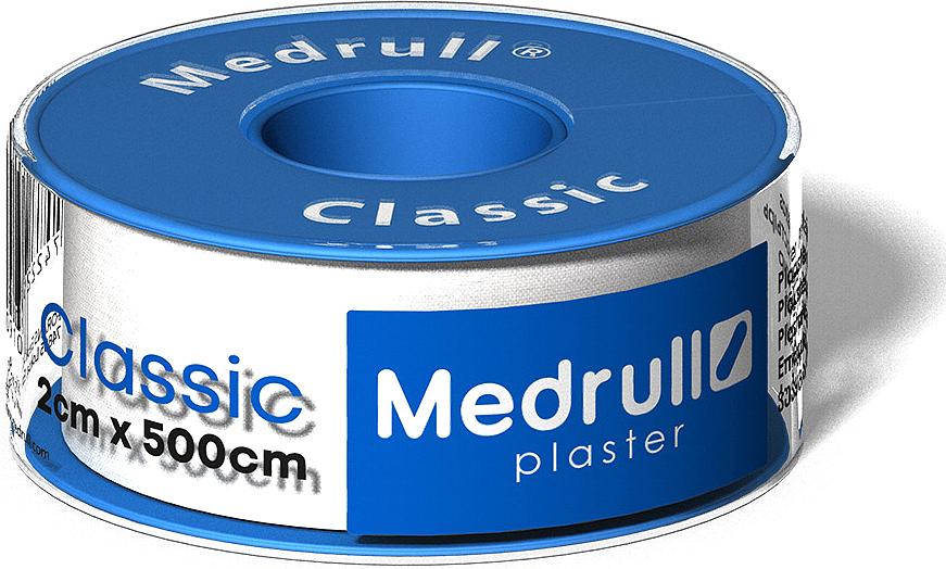 Medrull Лейкопластырь рулонный на текстильной основе Classic, 2 см x 5 м