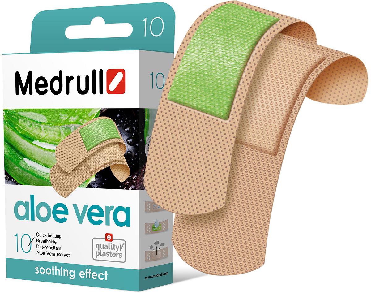 Medrull Набор пластырей Aloe Vera, №10 трансдермальные пластыри производство индия в украине