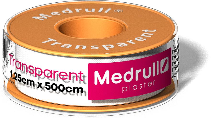 Medrull Лейкопластырь рулонный на полимерной основе Transparent, 1,25 см x 5 м4742225005397Пластырь Transparent в руллончике прозрачный. Состав: Полимерный материал. Структура материала: Текстильная полоска на цинк – оксидной основе. Упакован в индивидуальную упаковку + небольшая коробка для аптек или торговых точек.