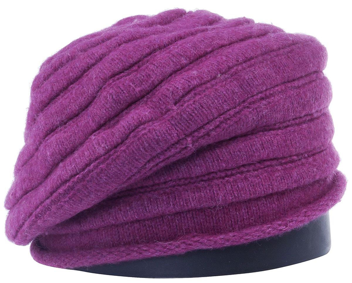 Шапка женская Vittorio Richi, цвет: ярко-брусничный. Aut161825L-50/17. Размер 56/58Aut161825LСтильная женская шапка Vittorio Richi отлично дополнит ваш образ в холодную погоду. Модель, изготовленная из высококачественных материалов, максимально сохраняет тепло и обеспечивает удобную посадку. Привлекательная стильная шапка подчеркнет ваш неповторимый стиль и индивидуальность.