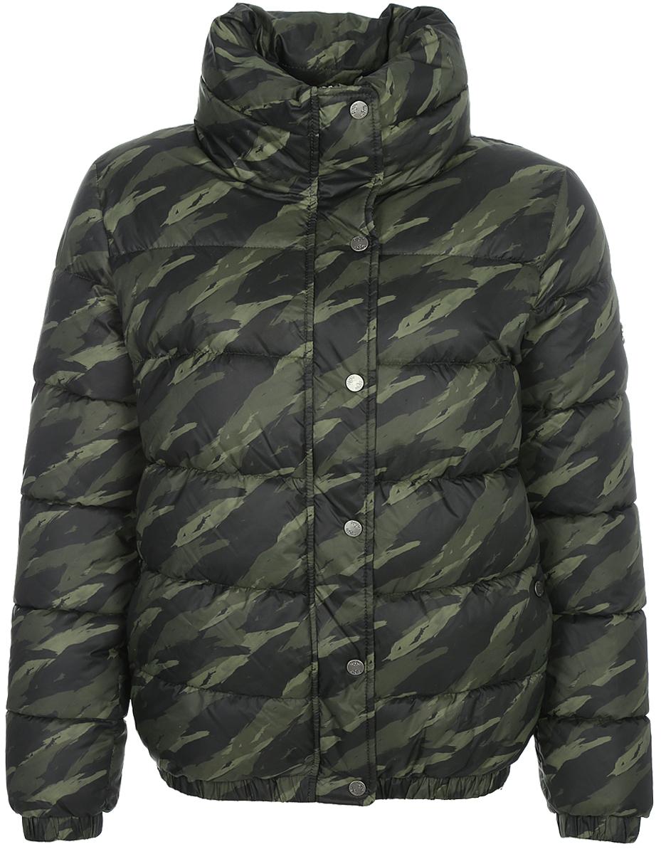 Куртка женская Grishko, цвет: хаки. AL - 3291. Размер 42AL - 3291Суперстильная молодежная куртка с прорезными карманами на молниях и высоким широким воротником. Рукава на резинках. Утеплитель - 100% микрофайбер. Микрофайбер - это утеплитель нового поколения, который отличается повышенной теплоизоляцией, антибактериальными свойствами, долговечностью в использовании, необычайно легок в носке и уходе. Изделия легко стираются в машинке, не теряя первоначального внешнего вида. Комфортная температура носки до минус 10 градусов.