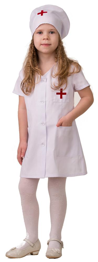 Батик Костюм карнавальный для девочки Медсестра-2 размер 38 батик костюм карнавальный для мальчика римский воин размер 38