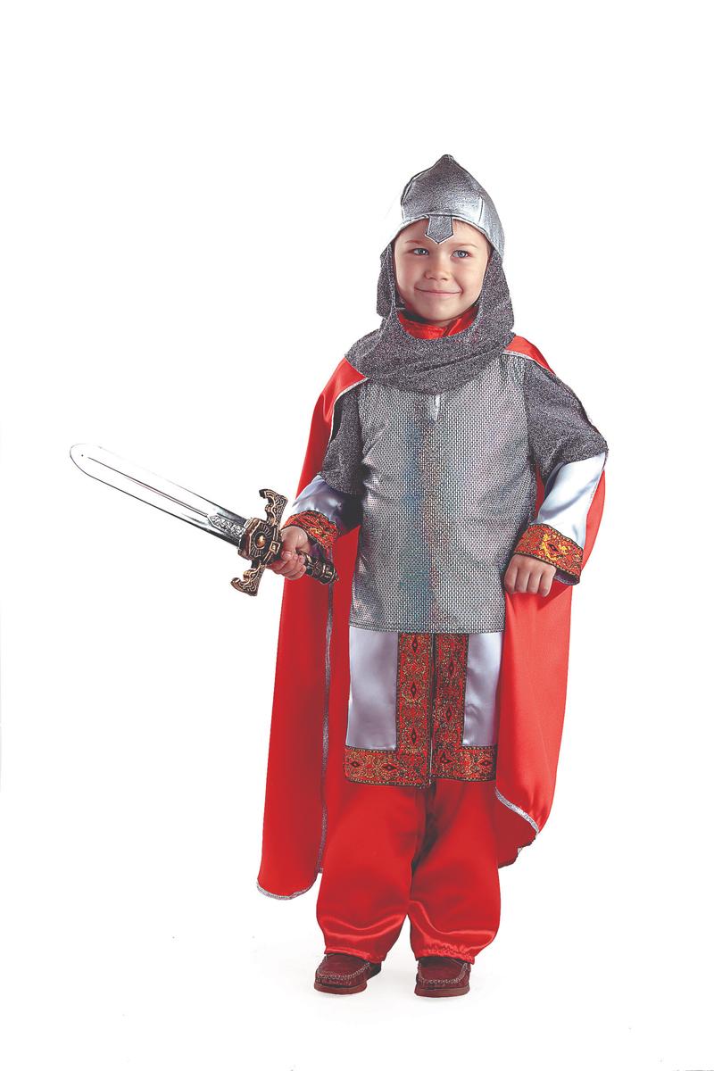 Батик Костюм карнавальный для мальчика Богатырь размер 32 костюма снеговика для мальчика на авито