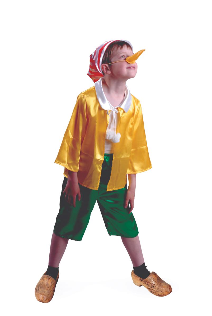 Батик Костюм карнавальный для мальчика Буратино размер 36 батик костюм карнавальный для мальчика витязь размер 34