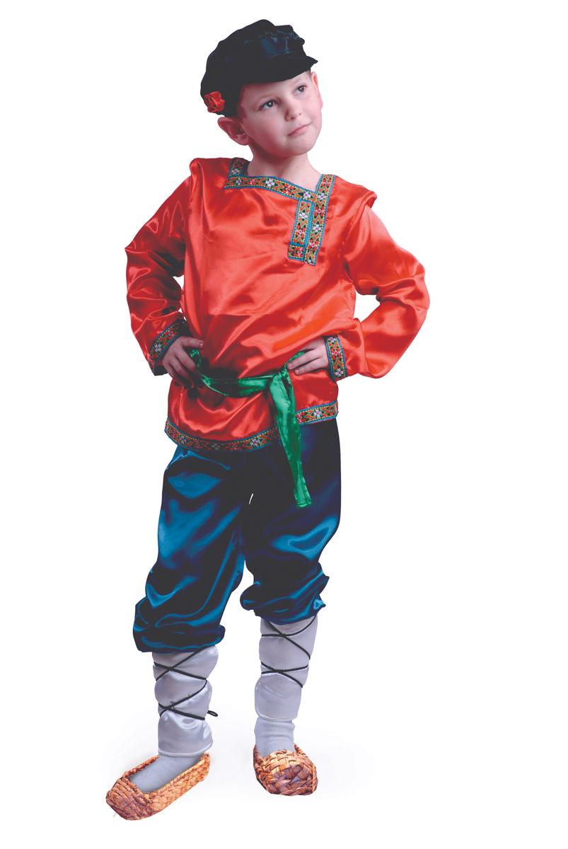 Батик Костюм карнавальный для мальчика Ванюшка размер 36