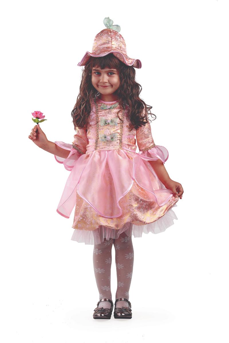Батик Костюм карнавальный для девочки Дюймовочка цвет розовый размер 34