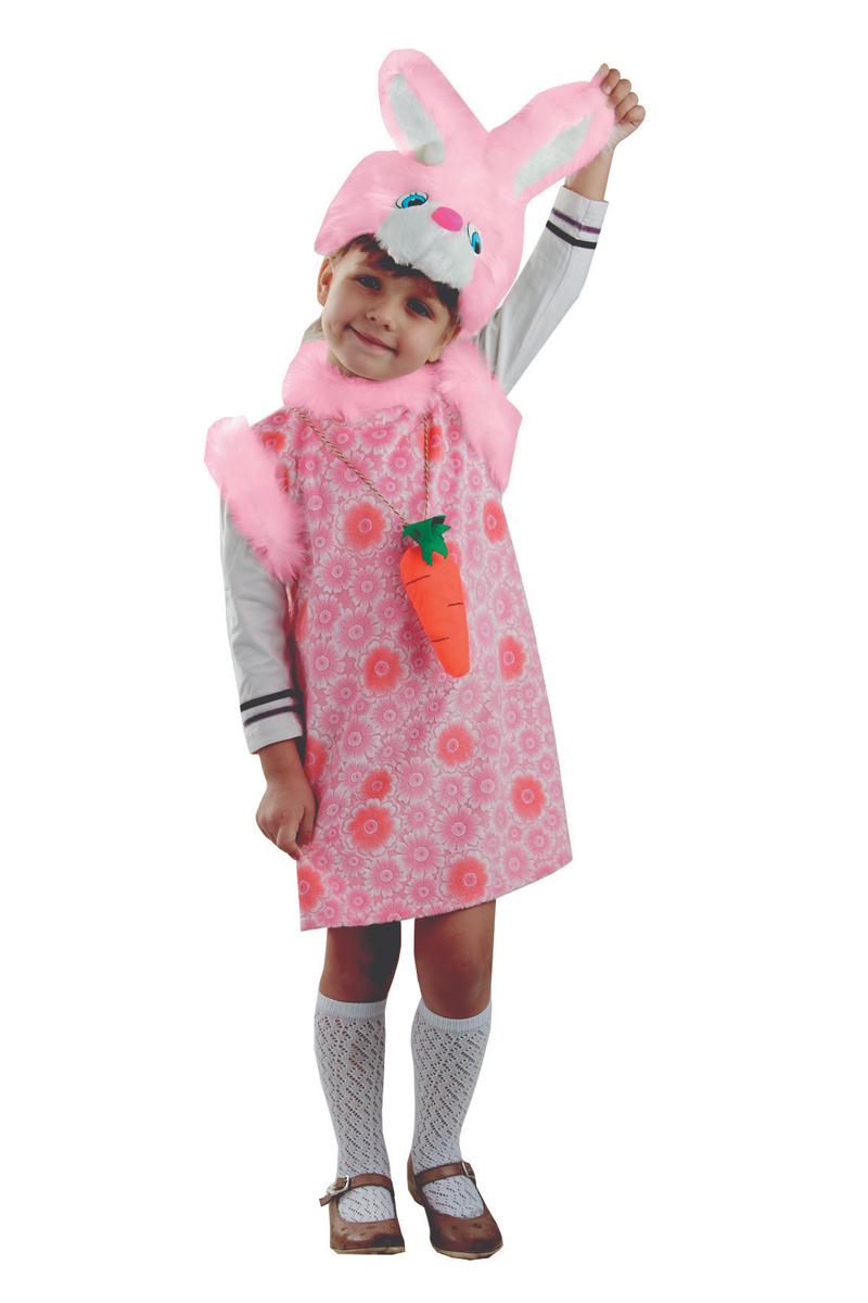 Батик Костюм карнавальный для девочки Зайка Липси цвет розовый размер 28