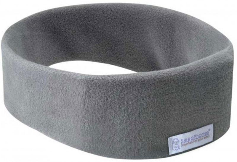 AcousticSheep SleepPhones Wireless, Grey наушникиSB6GM-USБеспроводные наушники для сна AcousticSheep SleepPhones Wireless представляют собой мягкую, гладкую головную повязку, внутри которой находятся два плоских наушника и беспроводной передатчик. Наушники стали еще удобнее - никаких громоздких компонентов, никаких проводов, никакой зависимости от длины шнура, никаких аудиоразъемов. Слушать музыку в мягких наушниках SleepPhones Wireless стало еще проще и удобнее.Наушники SleepPhones Wireless помогают расслабиться и заглушить нежелательные шумы. Особенностью беспроводных мягких наушников для сна SleepPhones Wireless является наличие встроенного регулятора громкости, воспроизведения, паузы. Наушники сопрягаются с мобильными устройствами или компьютером по беспроводному протоколу Bluetooth.
