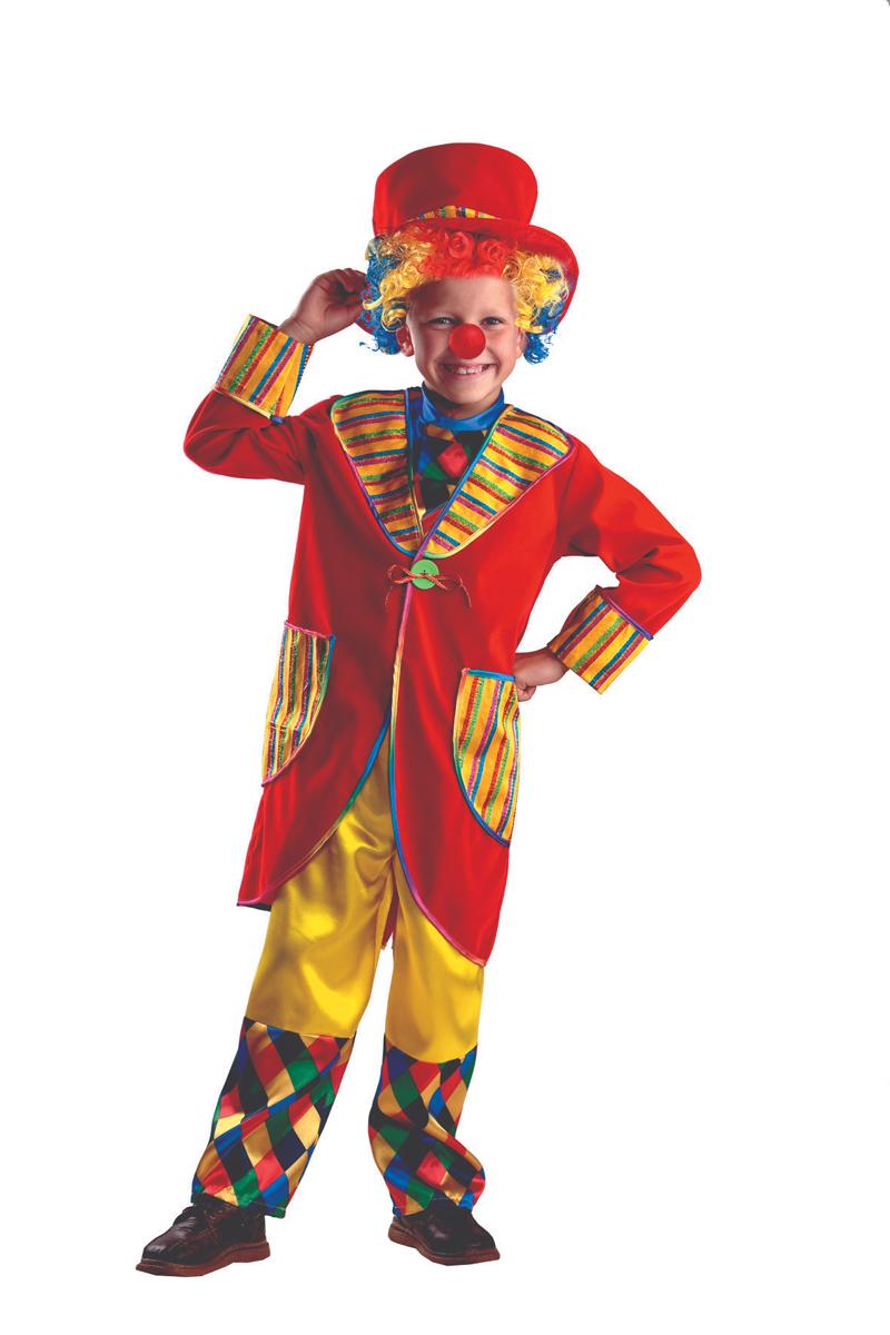 Батик Костюм карнавальный для мальчика Клоун Франт размер 38