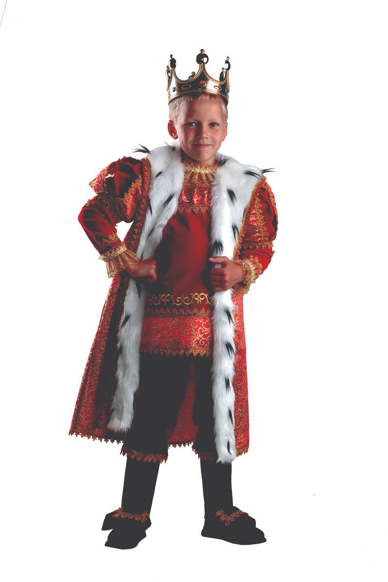 Батик Костюм карнавальный для мальчика Король размер 36 - Карнавальные костюмы и аксессуары