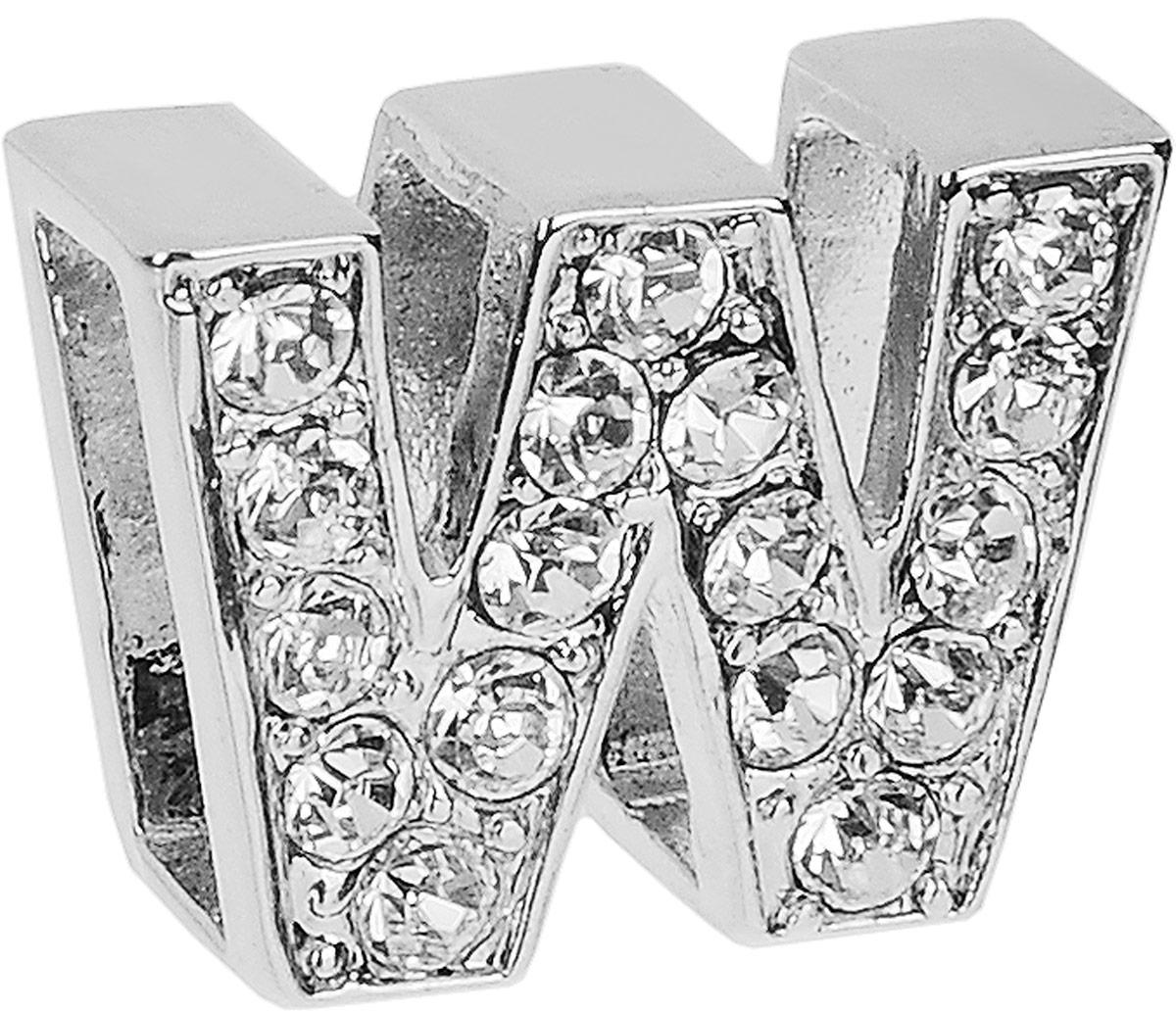 Украшение на ошейник Camon. DA110/WDA110/WCamon - оригинальное украшение на ошейник в виде буквы. Украшение изготовлено из металла и украшено стразами.Украшение на ошейник Camon поможет вам подчеркнуть индивидуальность вашего питомца.Размеры: 1,5 х 1,2 х 0,5 см.