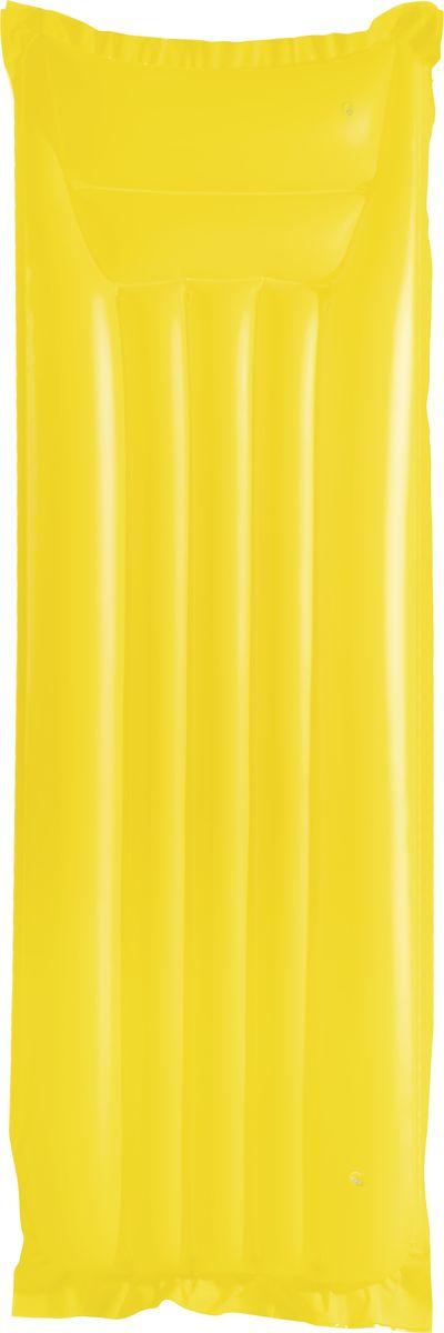 Матрас надувной Bestway, цвет: желтый, 183 х 69 см