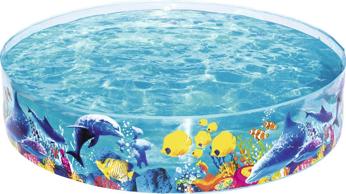 Bestway Бассейн55030Бассейн Bestway предназначен для водных развлечений на небольших участкахземли. Бассейн изготовлен из жесткой прозрачной боковой стенки изизносостойкого ПВХ с наглухо прикрепленным прочным виниловым дном. В комплект входит заплата для ремонта.Расчетный объем бассейна:946 литров.Диаметр бассейна: 1,83 м.Высота бассейна: 38 см. Способы ухода: чистка производится с помощью мягкой губки, естественнаясушка.Условия хранения: в сухом помещении, при комнатной температуре.