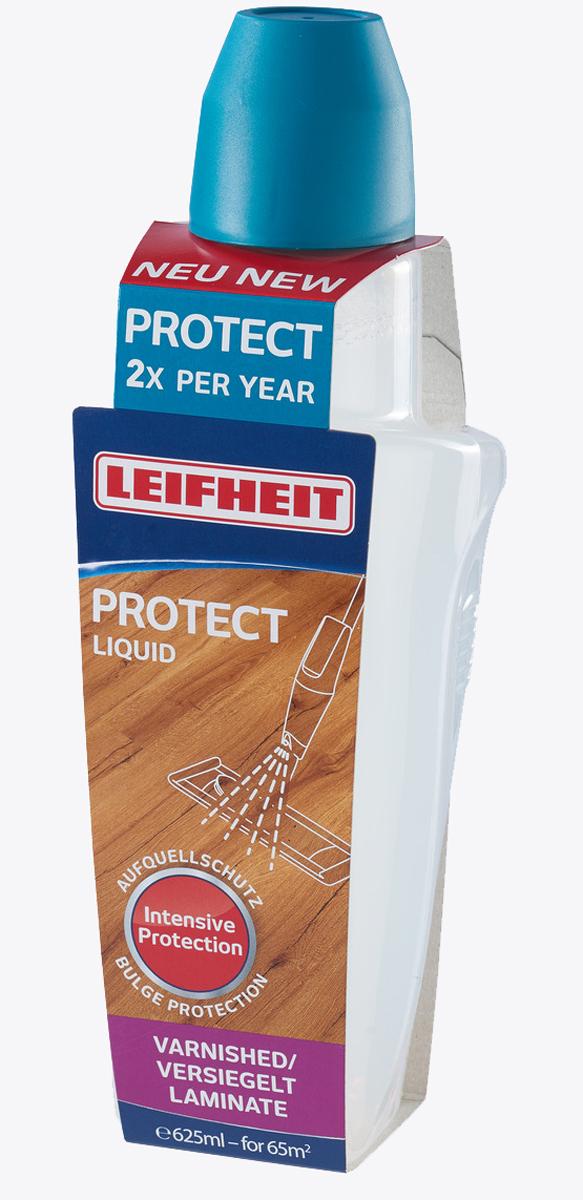 Средство для ухода за ламинатом и паркетом с защитным покрытием Leifheit Protect, 625 мл03;03Средство для ухода за ламинатом/паркетом с защитным покрытием Leifheit Protect применяется в помещенияхплощадью до 65 кв. м.Специальная смесь с полимерами обновляет специальный слой защищенной поверхности. Средство дляинтенсивного ухода с эффектом водоотталкивания: предотвращает неприятные повреждения, вызванныеразбуханием покрытия - даже по краям швов. Рекомендовано для нанесения раз в полгода.Товар сертифицирован.Как выбрать качественную бытовую химию, безопасную дляприроды и людей. Статья OZON Гид