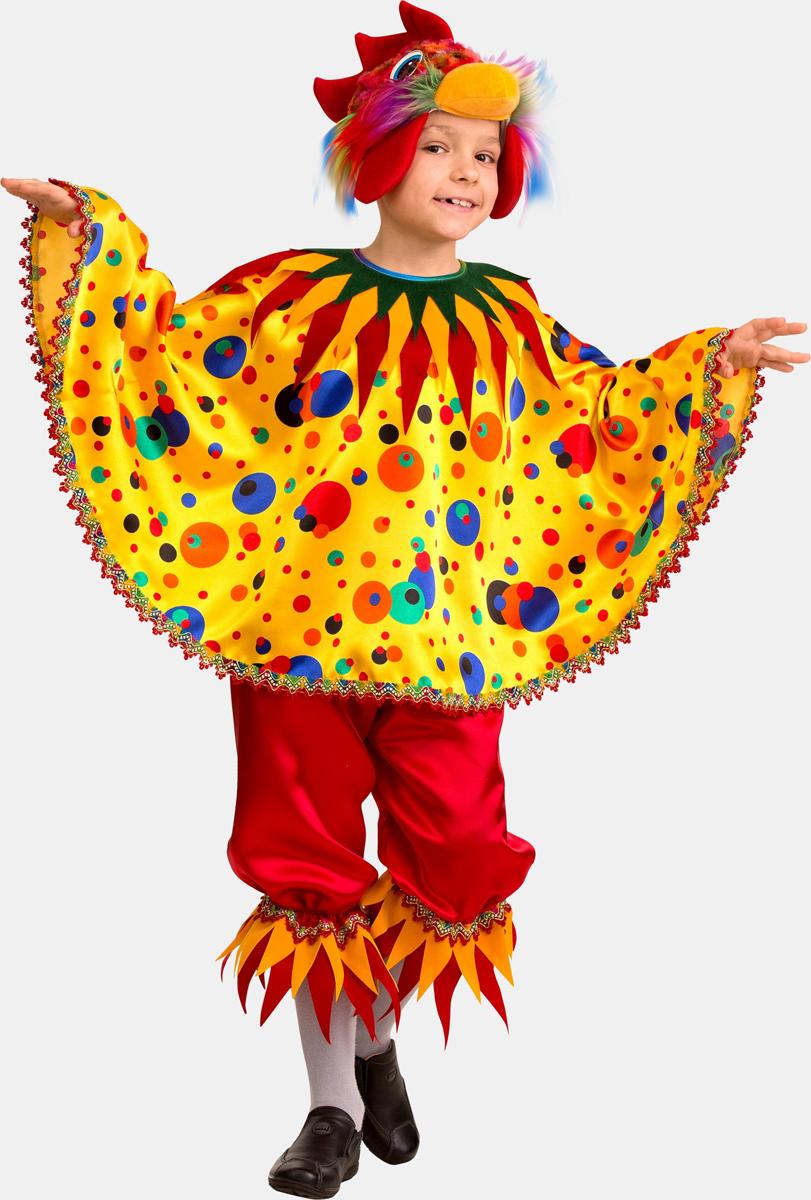 Батик Костюм карнавальный для мальчика Петушок Кукарека размер 36 батик костюм карнавальный для мальчика вельможа цвет бордовый размер 38