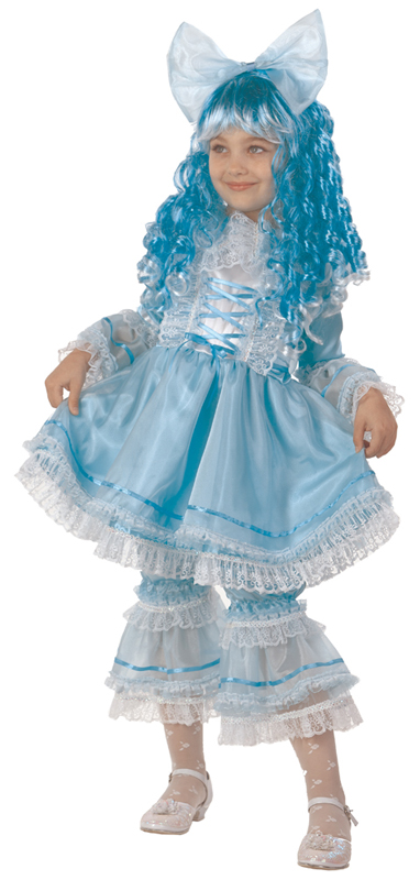 Батик Костюм карнавальный для девочки Кукла Мальвина размер 36 - Карнавальные костюмы и аксессуары