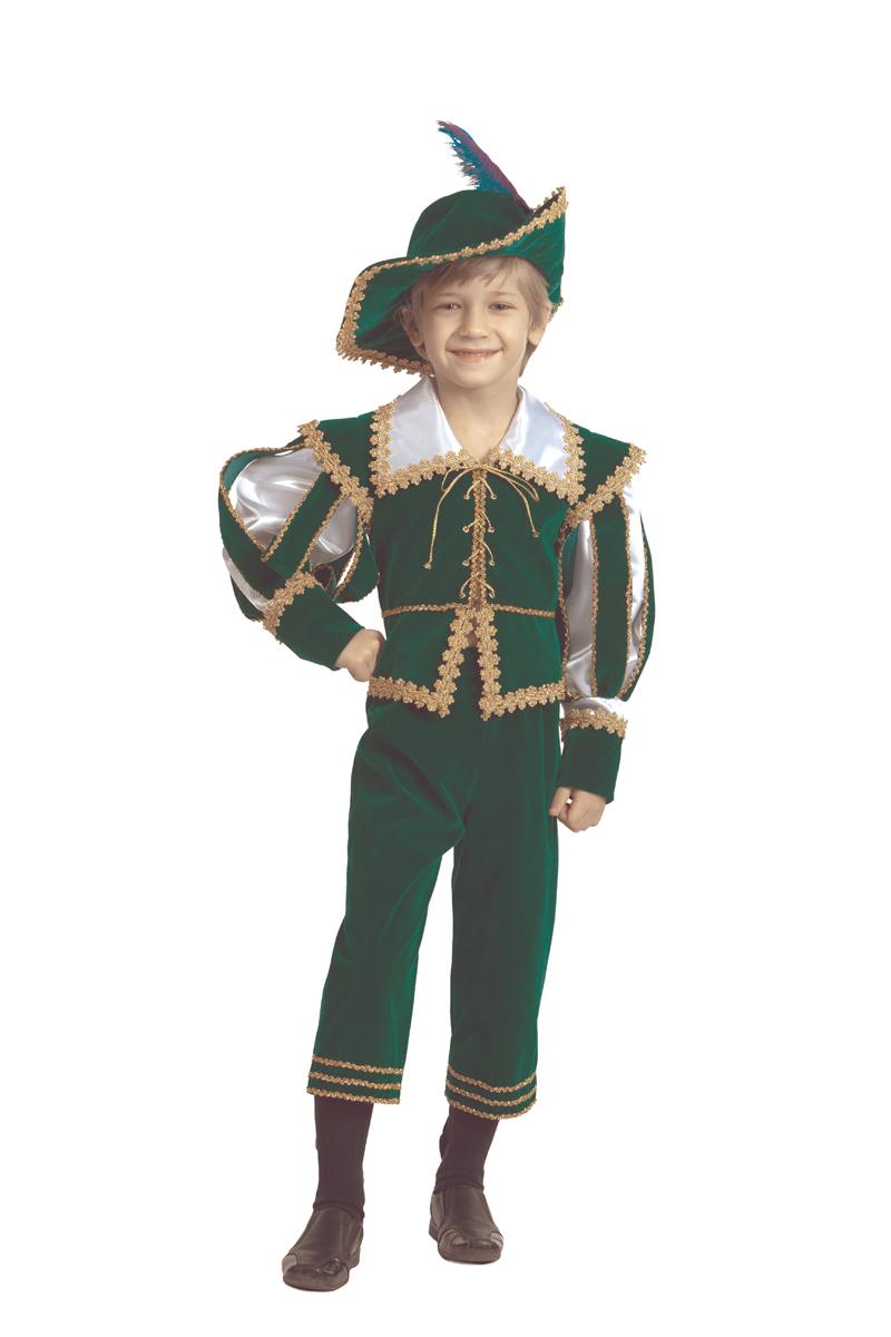 Батик Костюм карнавальный для мальчика Лорд размер 36