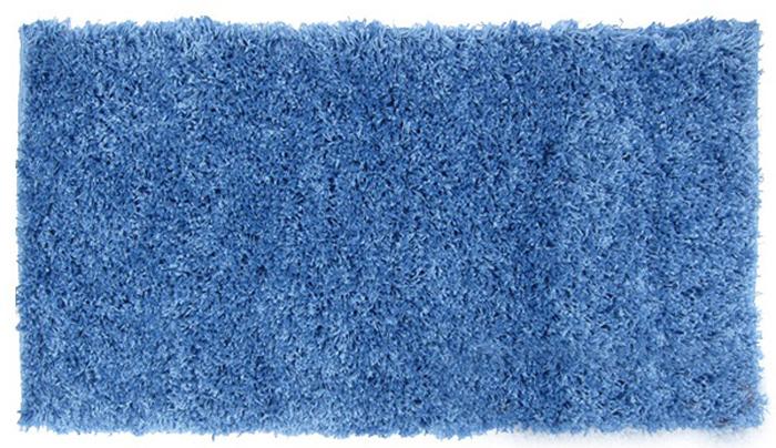 Коврик домашний SunStep, цвет: синий, 100 х 200 х 4 см70-834Домашний коврик SunStep мягкий и уютный, с ворсом 4 см. Ежедневная уборка ковра пылесосом поможет в борьбе с пылью. Примерно раз в полгода его необходимо подвергать мойке и чистке с применением специальных средств. Такой коврик придаст домашний уют любому помещению и украсит ваш интерьер.