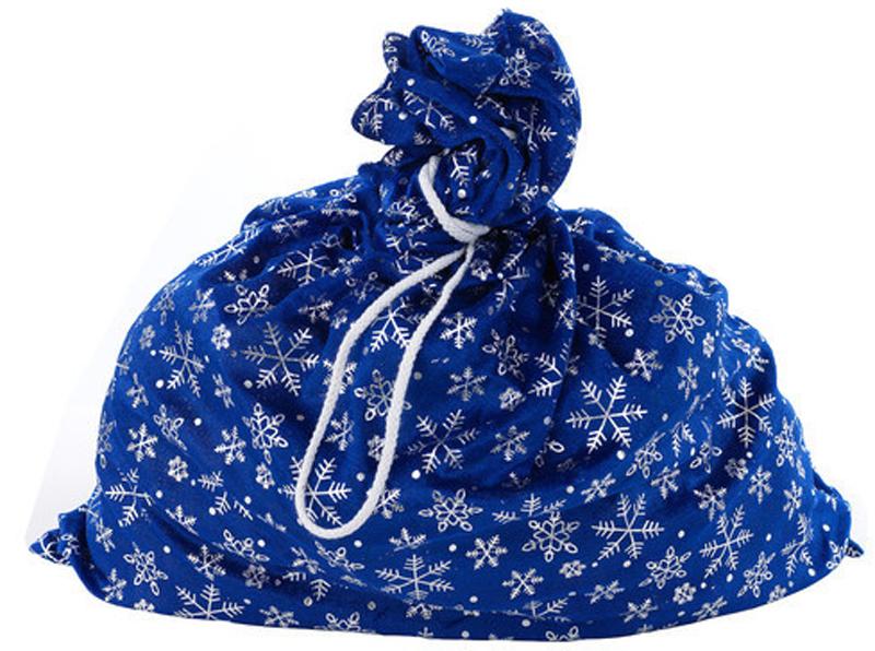 Батик Костюм карнавальный для мальчика Мешок Деда Мороза цвет синий размер 52-56 батик костюм карнавальный для мальчика римский воин размер 38