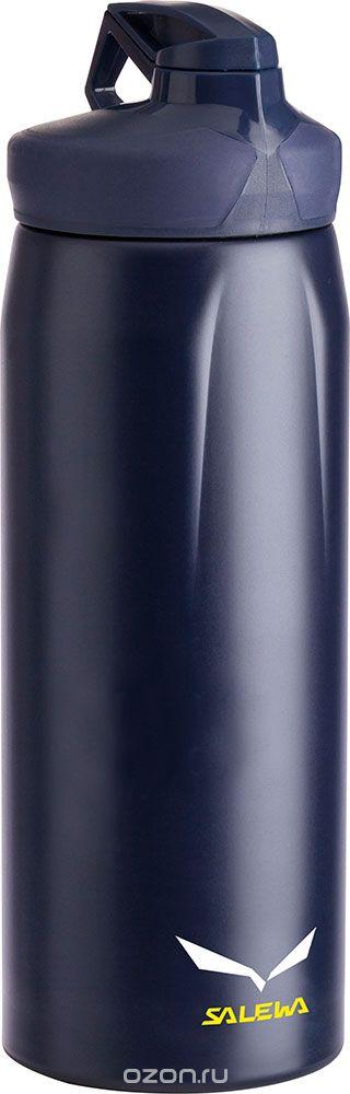 Фляга Salewa Hiker Bottle, цвет: темно-синий, 1 л фляга экспедиция эко цвет серый 1 л