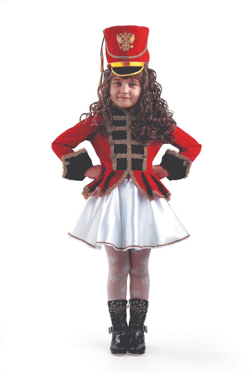 Батик Костюм карнавальный для девочки Мажоретка размер 38 батик карнавальный костюм капитан флинт