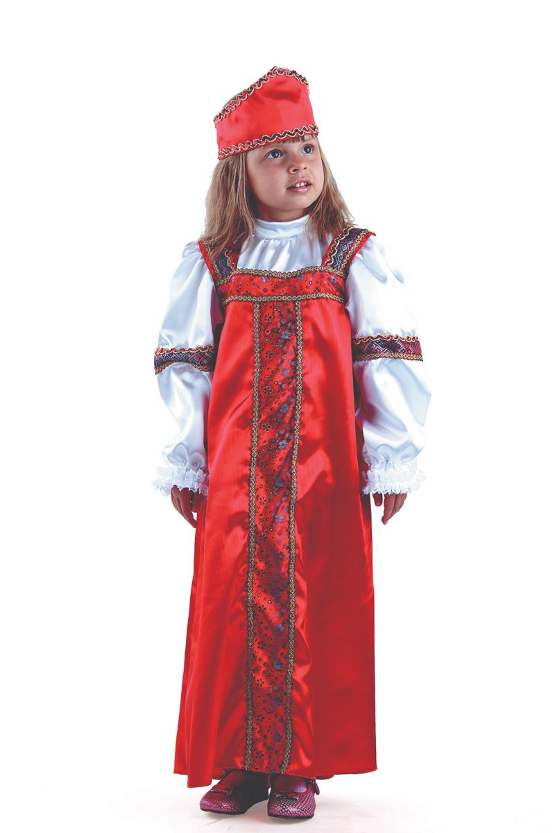Батик Костюм карнавальный для девочки Марья-искусница размер 40