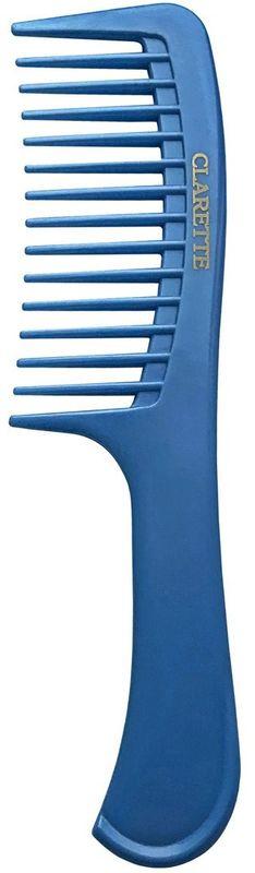 Clarette Расческа для волос с ручкой. CPB 738CPB 738;CPB 738Расческа с ручкой. Используется для расчесывания волос любого типа и длины, создания пробора и простых причесок.