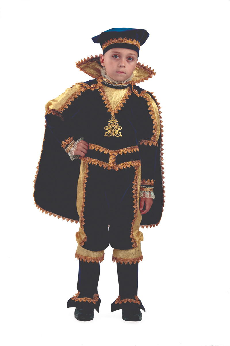 Батик Костюм карнавальный для мальчика Принц размер 30 детский костюм сказочного клоуна 30