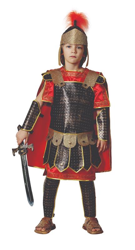 Батик Костюм карнавальный для мальчика Римский воин размер 38 костюм зловещего шута детский 38 40