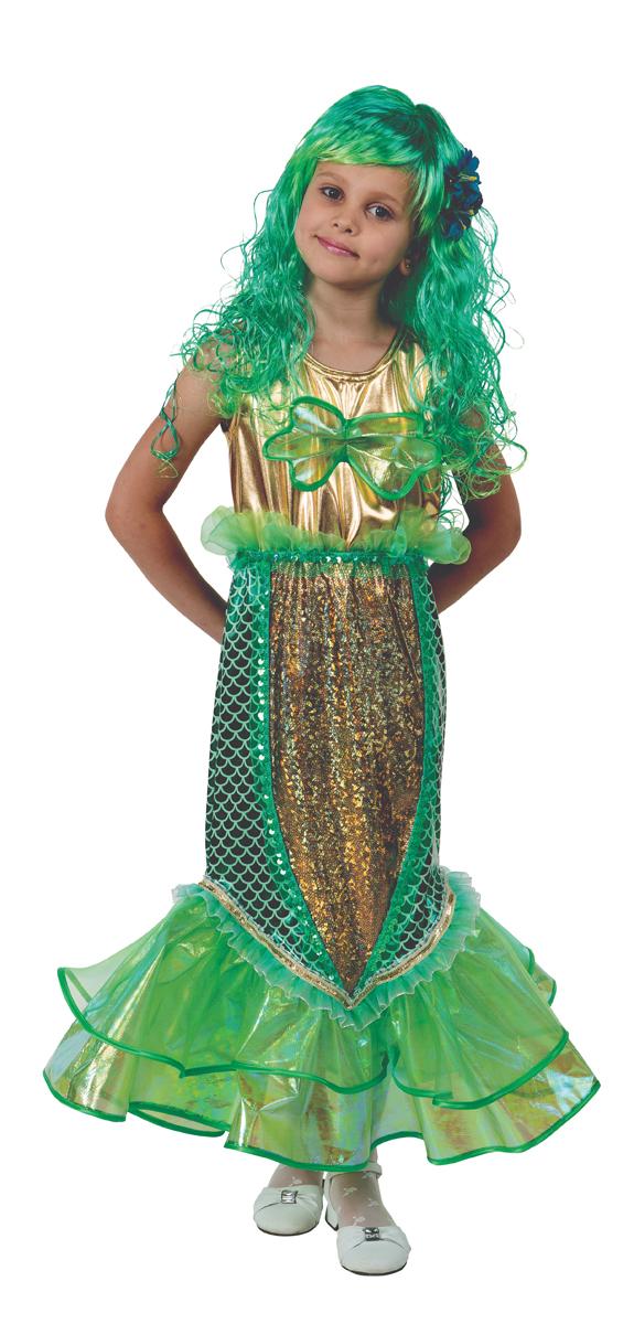 Батик Костюм карнавальный для девочки Русалочка размер 34