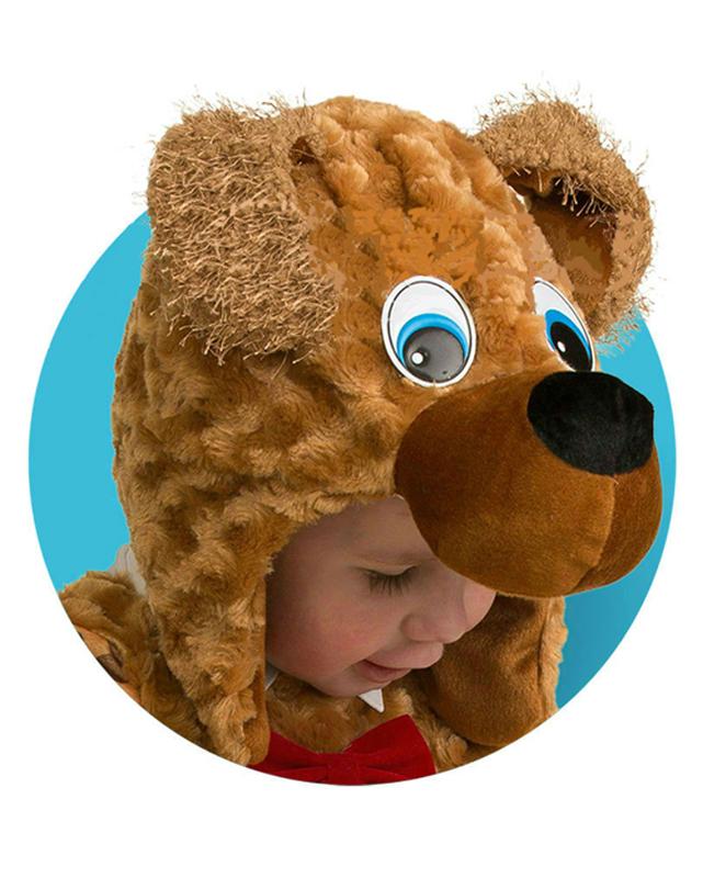 Батик Маска карнавальная для мальчика Собачка размер 50-52