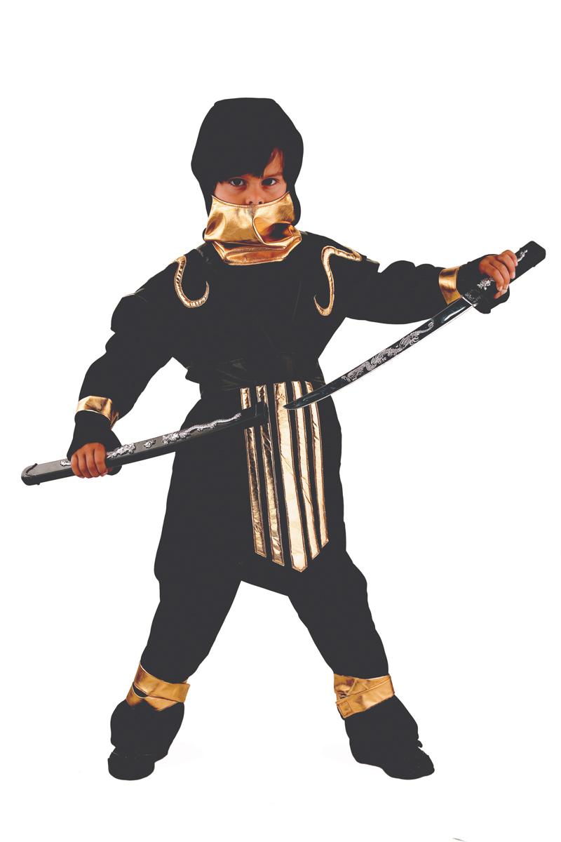 Батик Костюм карнавальный для мальчика Супер Ниндзя размер 40 батик костюм карнавальный для мальчика римский воин размер 38