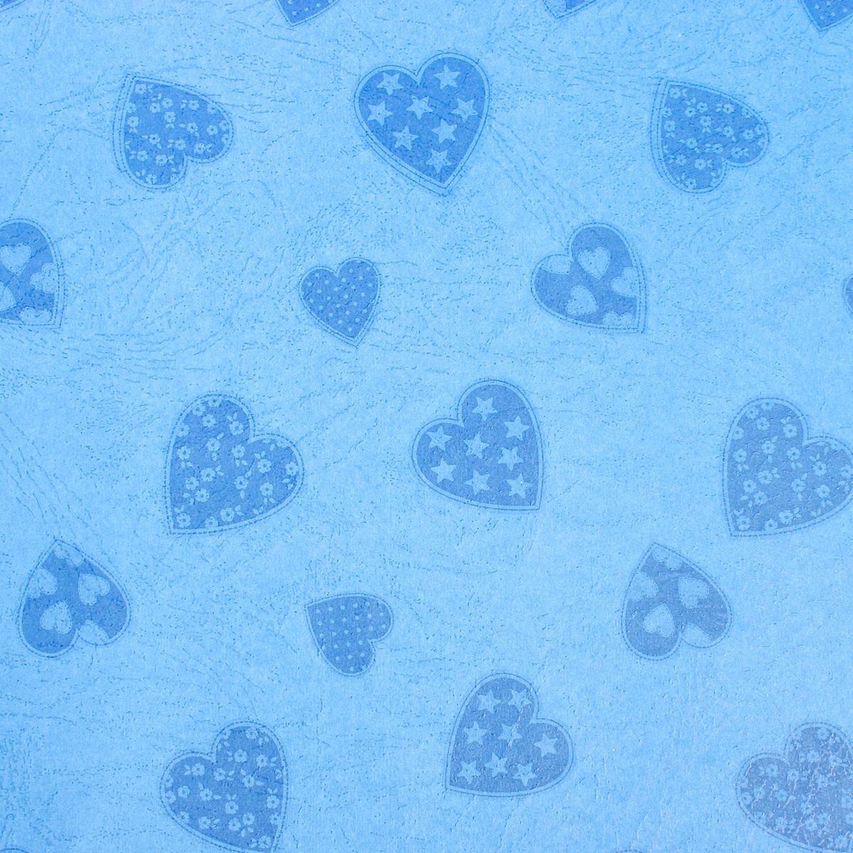 Бумага упаковочная Сердца на синем, 50 х 70 см. 26546272654627Любой подарок начинается с упаковки. Что может быть трогательнее и волшебнее, чем ритуал разворачивания полученного презента. И именно оригинальная, со вкусом выбранная упаковка выделит ваш подарок из массы других. Она продемонстрирует самые тёплые чувства к виновнику торжества и создаст сказочную атмосферу праздника. Бумага упаковочная Сердца на синем, 50 см х 70 см — это то, что вы искали.