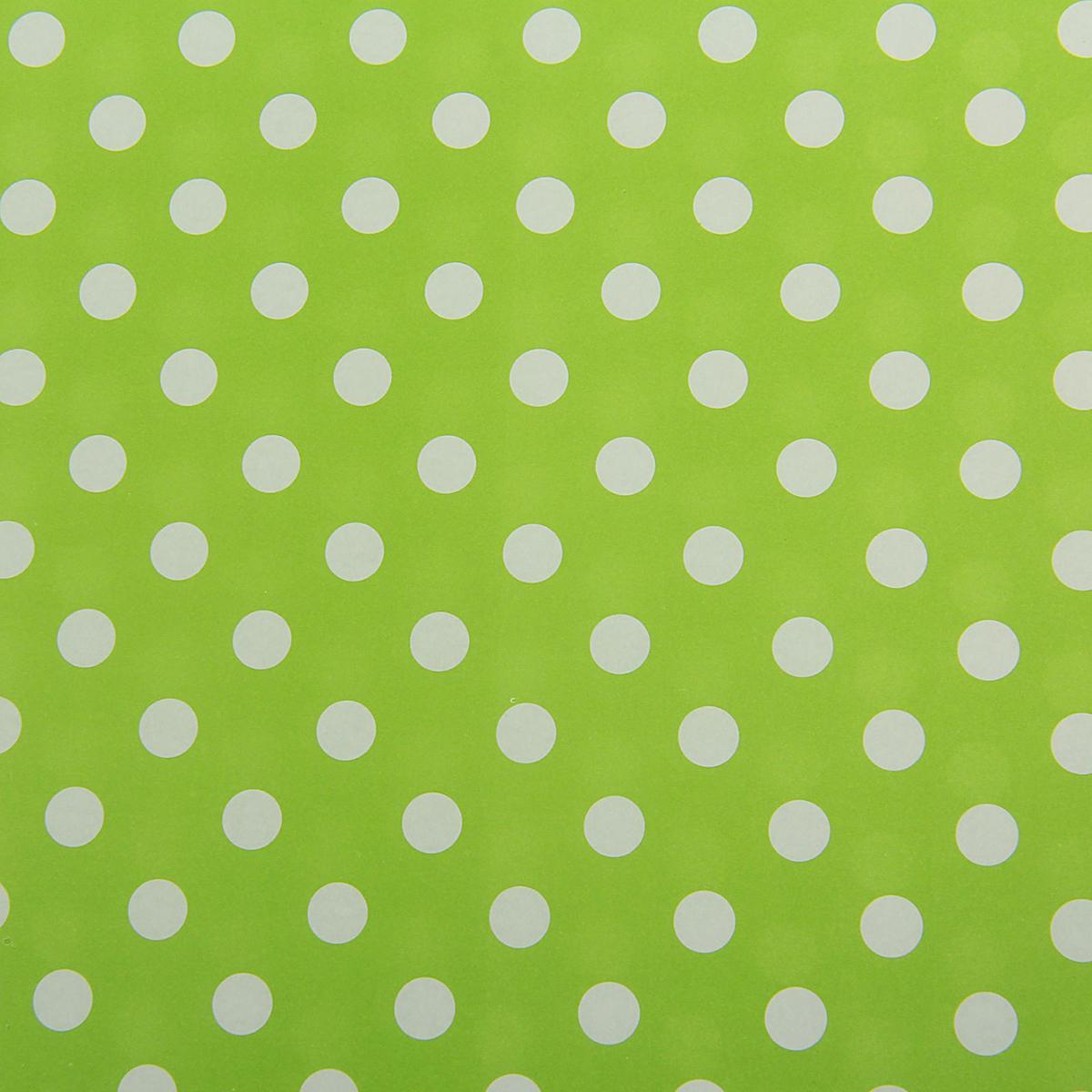 Бумага упаковочная Горох на зеленом, 50 х 70 см. 18820441882044Любой подарок начинается с упаковки. Что может быть трогательнее и волшебнее, чем ритуалразворачивания полученного презента. И именно оригинальная, со вкусом выбранная упаковкавыделит ваш подарок из массы других. Она продемонстрирует самые тёплые чувства к виновникуторжества и создаст сказочную атмосферу праздника. Бумага упаковочная Горох на зеленом — это то, что вы искали.