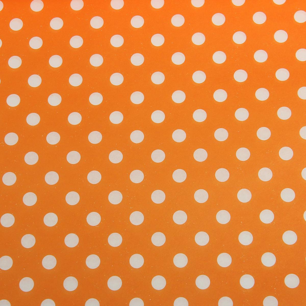 Бумага упаковочная Горох на оранжевом, 50 х 70 см. 18820351882035Любой подарок начинается с упаковки. Что может быть трогательнее и волшебнее, чем ритуал разворачивания полученного презента. И именно оригинальная, со вкусом выбранная упаковка выделит ваш подарок из массы других. Она продемонстрирует самые тёплые чувства к виновнику торжества и создаст сказочную атмосферу праздника. Бумага упаковочная Горох на оранжевом— это то, что вы искали.