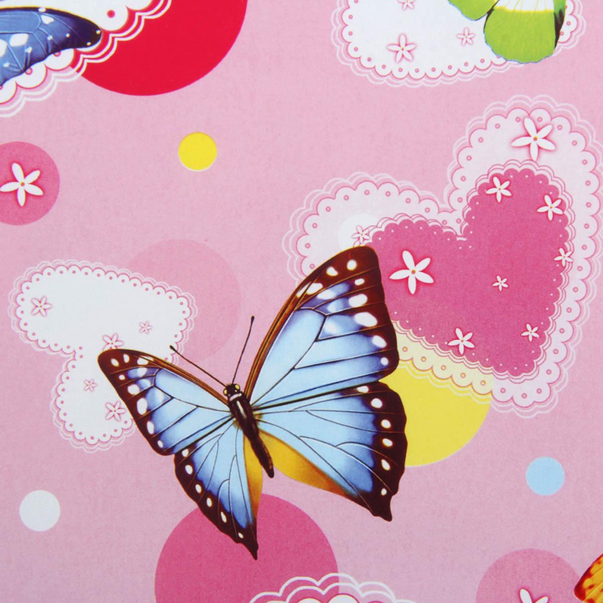 Бумага упаковочная Летящие бабочки, 52 х 76 см. 852394852394Какой бы замечательный подарок вы ни подобрали для близкого человека, не стоит забывать, что и его праздничное оформление — ответственный этап. Первое впечатление очень важно, а неопрятный вид может полностью его испортить.Упаковочная бумага «Букет» — прекрасный образец достойного оформления, который радует глаз своей красотой, а кошелёк — ценой. Рекомендуем приобрести этот товар оптом на нашем сайте, ведь впереди ещё много праздников!