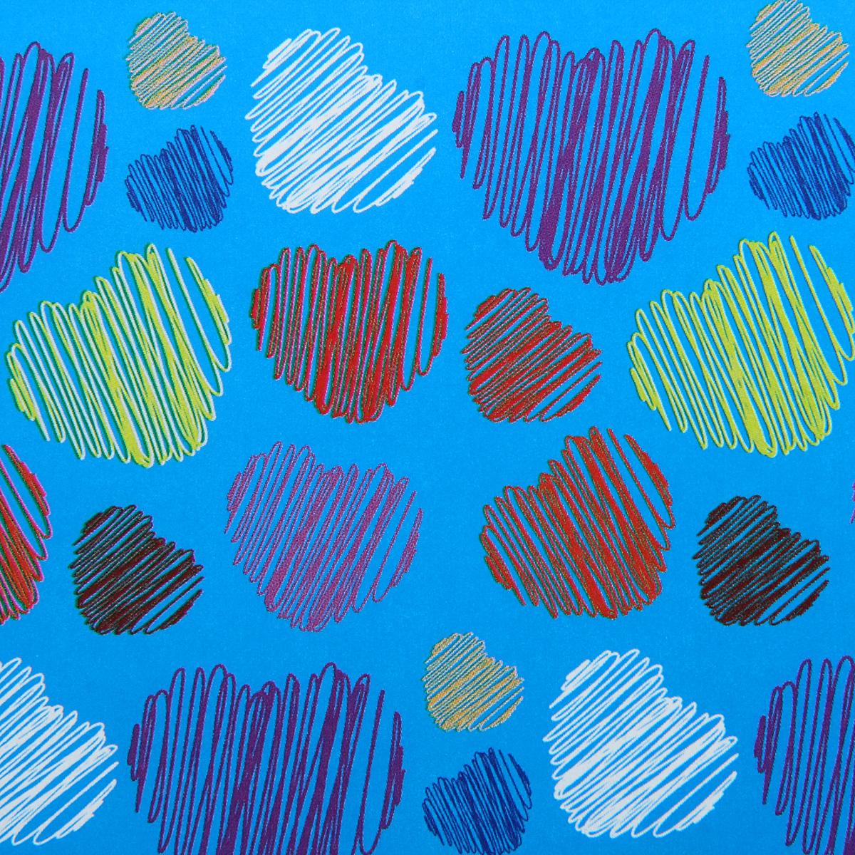Бумага упаковочная Разноцветные сердца, 52 х 76 см. 852386852386Какой бы замечательный подарок вы ни подобрали для близкого человека, не стоит забывать, что и его праздничное оформление — ответственный этап. Первое впечатление очень важно, а неопрятный вид может полностью его испортить. Упаковочная бумага «Букет» — прекрасный образец достойного оформления, который радует глаз своей красотой, а кошелёк — ценой. Рекомендуем приобрести этот товар оптом на нашем сайте, ведь впереди ещё много праздников!