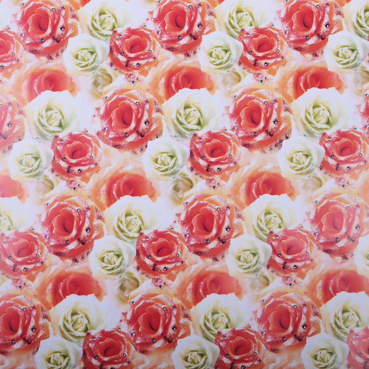 Бумага упаковочная Белые и чайные розы, 70 х 100 см. 820793820793Любой подарок начинается с упаковки. Что может быть трогательнее и волшебнее, чем ритуал разворачивания полученного презента. И именно оригинальная, со вкусом выбранная упаковка выделит ваш подарок из массы других. Она продемонстрирует самые тёплые чувства к виновнику торжества и создаст сказочную атмосферу праздника. Бумага упаковочная Белые и чайные розы, 70 х 100 см — это то, что вы искали.