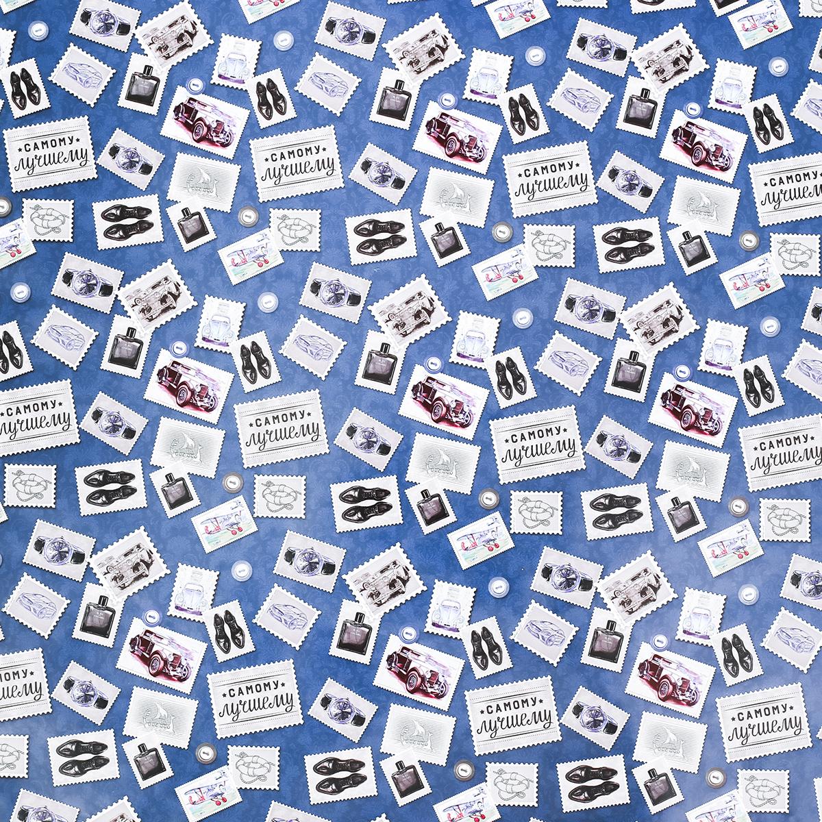 Бумага упаковочная Дарите счастье Марки, глянцевая, 70 х 100 см. 27916662791666Любой подарок начинается с упаковки. Что может быть трогательнее и волшебнее, чем ритуал разворачивания полученного презента. И именно оригинальная, со вкусом выбранная упаковка выделит ваш подарок из массы других. Она продемонстрирует самые тёплые чувства к виновнику торжества и создаст сказочную атмосферу праздника — это то, что вы искали.
