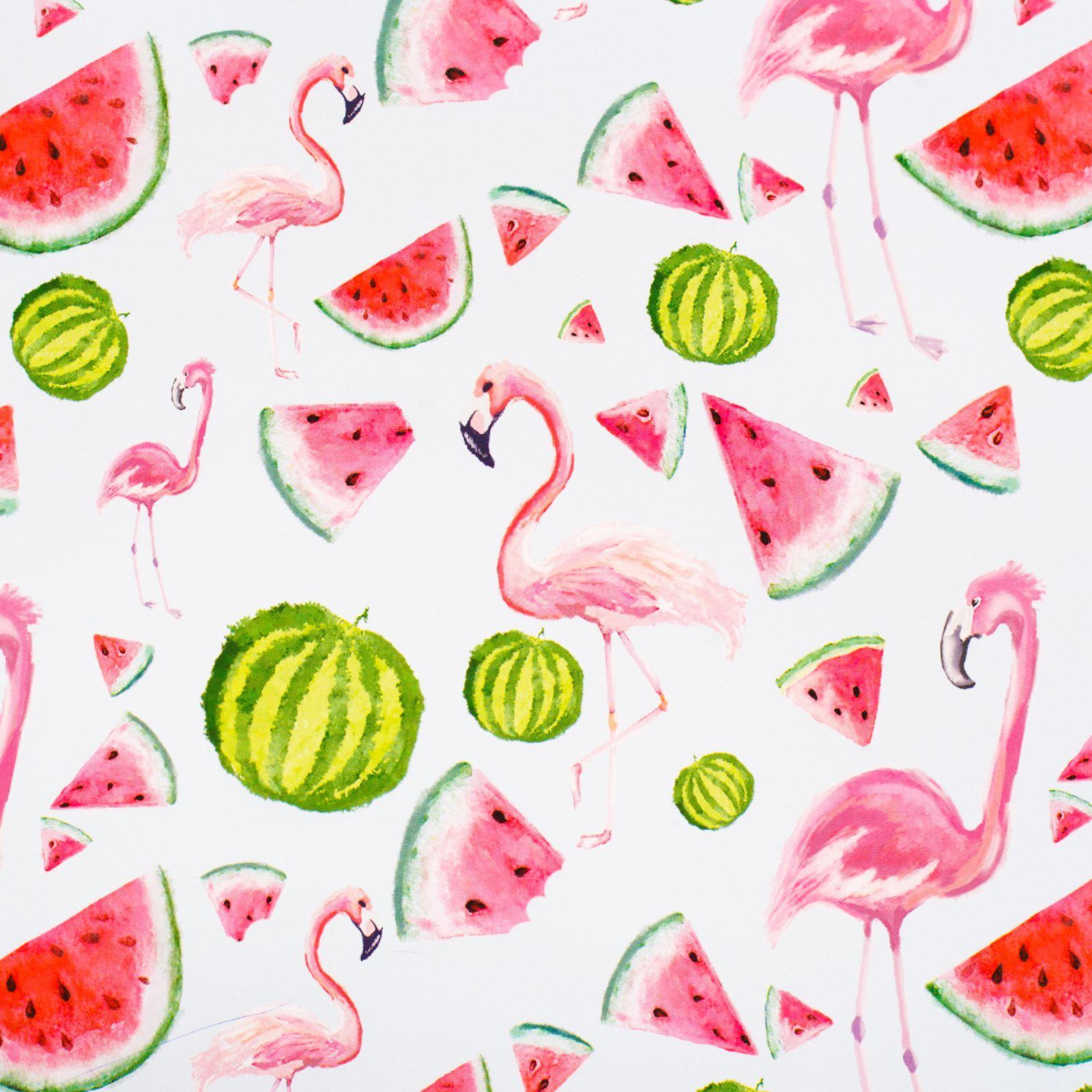 Бумага упаковочная Дарите счастье Розовый фламинго, глянцевая, 70 х 100 см бумага упаковочная magic time украшения и подарки 100 х 70 см