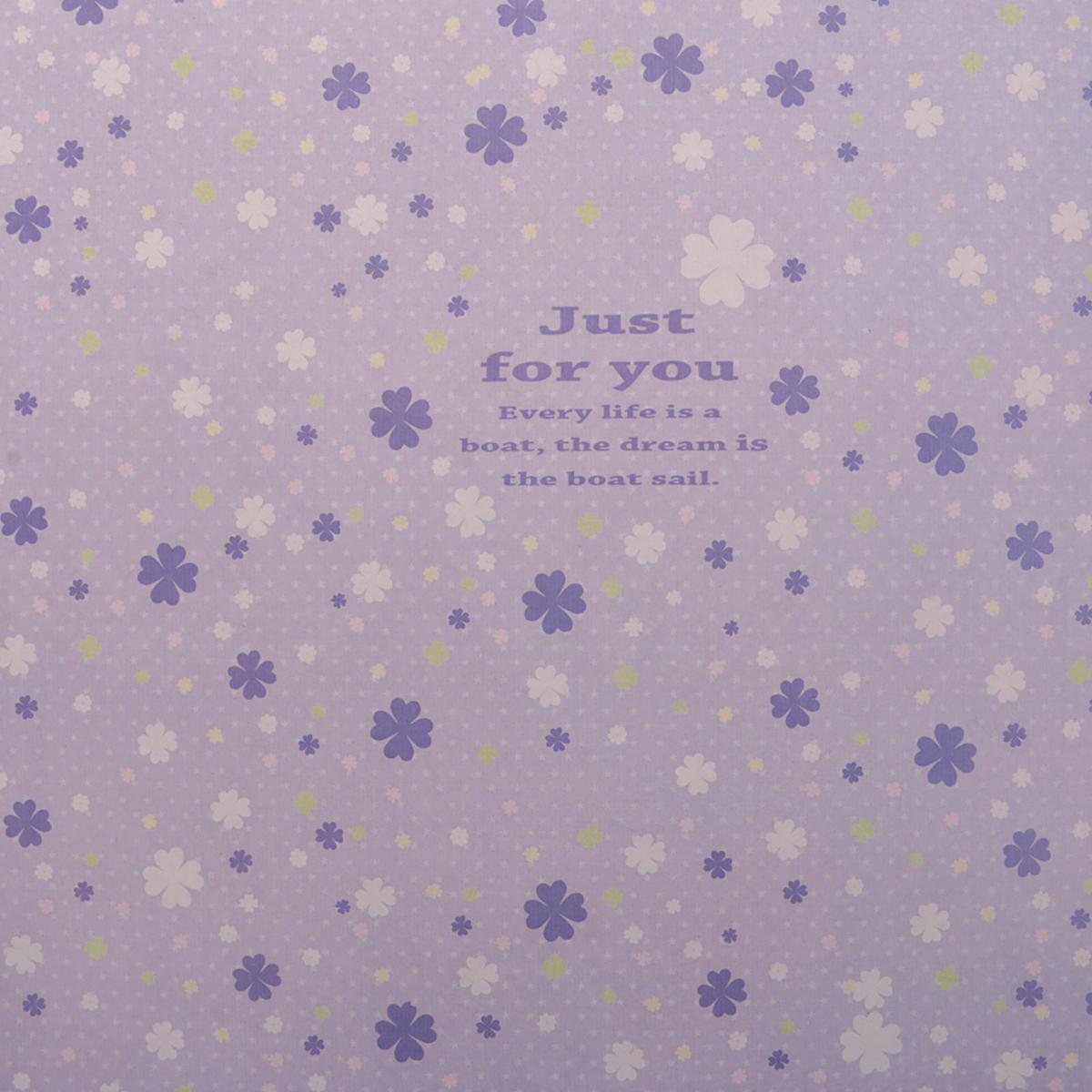 Бумага упаковочная Цветы на фиолетовом, глянцевая, 50 х 70 см. 24797862479786Любой подарок начинается с упаковки. Что может быть трогательнее и волшебнее, чем ритуал разворачивания полученного презента. И именно оригинальная, со вкусом выбранная упаковка выделит ваш подарок из массы других. Она продемонстрирует самые тёплые чувства к виновнику торжества и создаст сказочную атмосферу праздника. Бумага упаковочная глянцевая Цветы на фиолетовом, 50 х 70 см — это то, что вы искали.