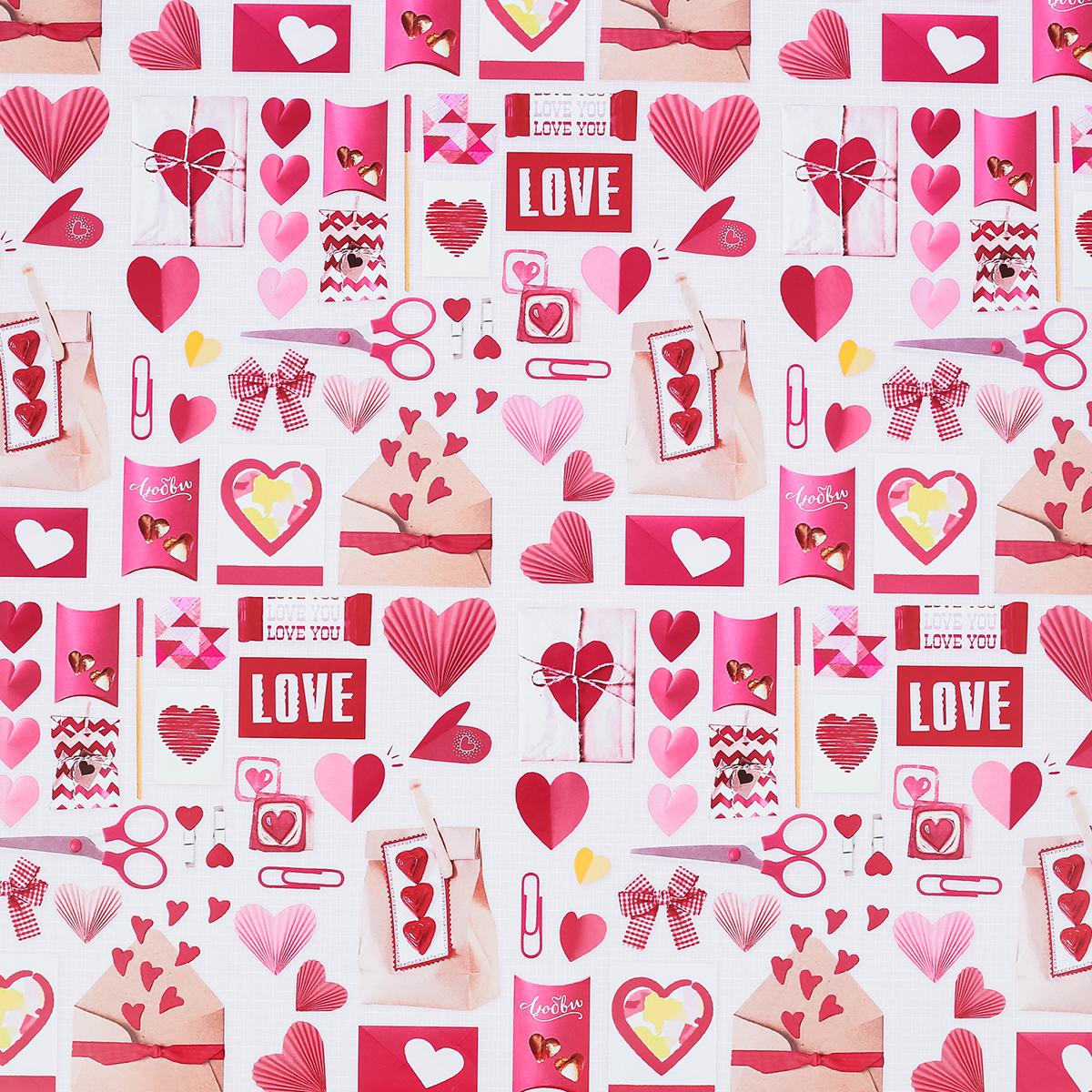 Бумага упаковочная Дарите счастье Розовые конверты, глянцевая, 70 х 100 см. 28620832862083Любой подарок начинается с упаковки. Что может быть трогательнее и волшебнее, чем ритуал разворачивания полученного презента. И именно оригинальная, со вкусом выбранная упаковка выделит ваш подарок из массы других. Она продемонстрирует самые тёплые чувства к виновнику торжества и создаст сказочную атмосферу праздника. Бумага упаковочная глянцевая Розовые конверты 70 х100 см — это то, что вы искали. Невозможно представить нашу жизнь без праздников! Мы всегда ждём их и предвкушаем, обдумываем, как проведём памятный день, тщательно выбираем подарки и аксессуары, ведь именно они создают и поддерживают торжественный настрой. Бумага упаковочная глянцевая Розовые конверты 70 х100 см — это отличный выбор, который привнесёт атмосферу праздника в ваш дом!