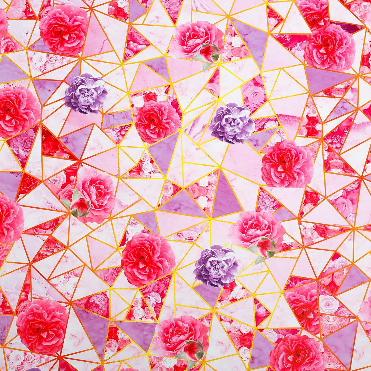 Бумага упаковочная Дарите счастье Золотые треугольники, глянцевая, 70 х 100 см. 27735612773561Любой подарок начинается с упаковки. Что может быть трогательнее и волшебнее, чем ритуал разворачивания полученного презента. И именно оригинальная, со вкусом выбранная упаковка выделит ваш подарок из массы других. Она продемонстрирует самые тёплые чувства к виновнику торжества и создаст сказочную атмосферу праздника. — это то, что вы искали.