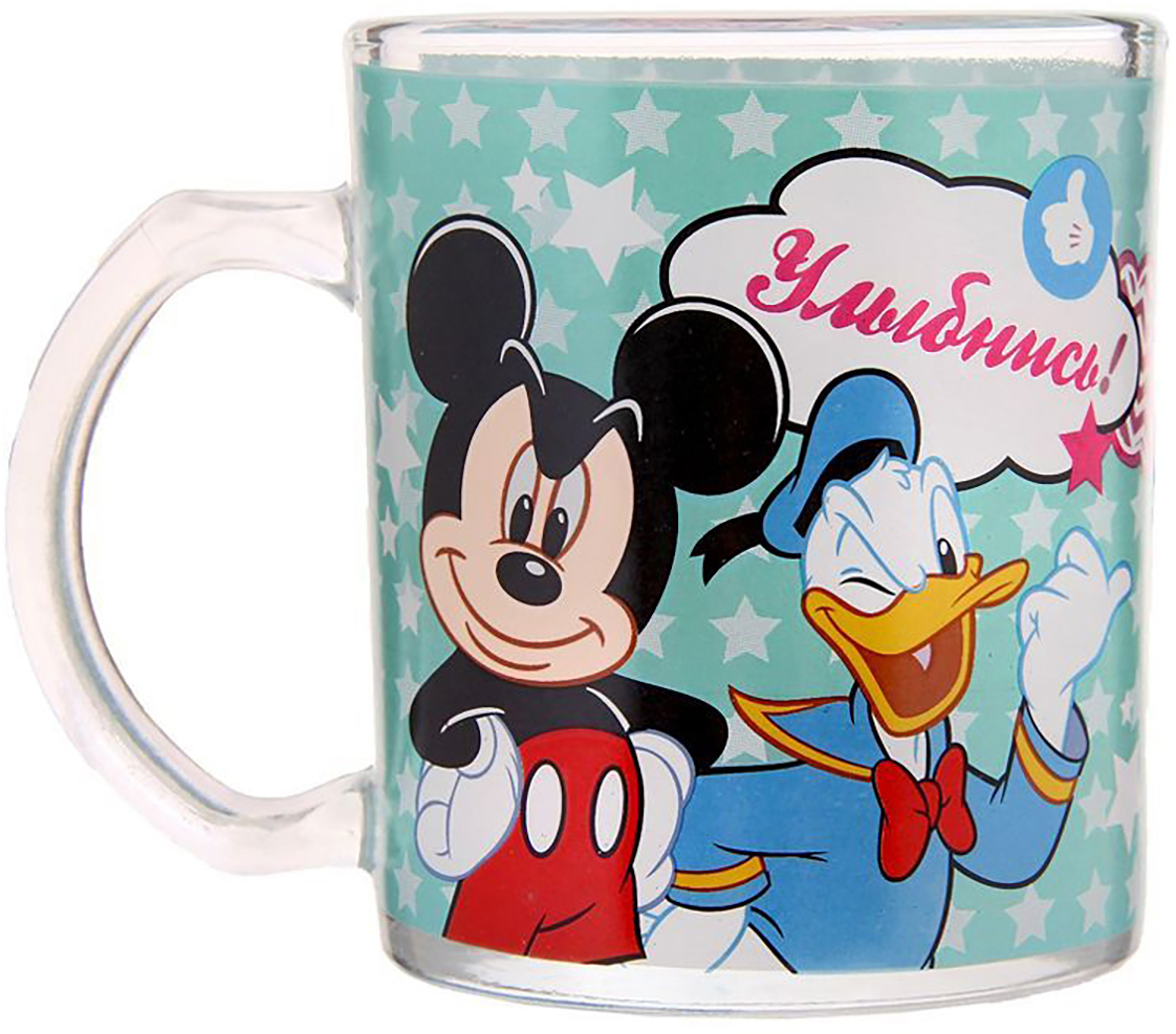 Кружка Disney Отличный день. Микки Маус и его друзья, 300 мл1195437Кружка с любимыми героями обязательно порадует малыша! Она яркая и волшебная, почти как лампа Алладина. Красочное изображение и дорогие сердцу персонажи будут радовать ребенка каждый день! С такой кружкой любой напиток станет в два раза вкуснее и желаннее. Благодаря яркой дизайнерской упаковке кружку можно подарить на любое важное событие в жизни малыша. Все материалы посуды безопасны для здоровья детей и взрослых. Соберите коллекцию лицензионной посуды с изображением любимых героев!